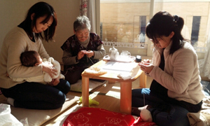 赤ちゃん 編み物教室 横浜市瀬谷区